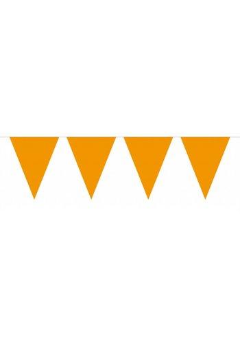 Vlaggenlijn XL Oranje - 10 meter