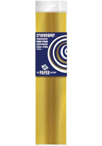 Crepe Papier - Goud - 250x50cm