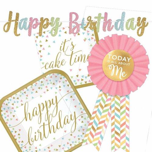 Happy Birthday Confetti Fun