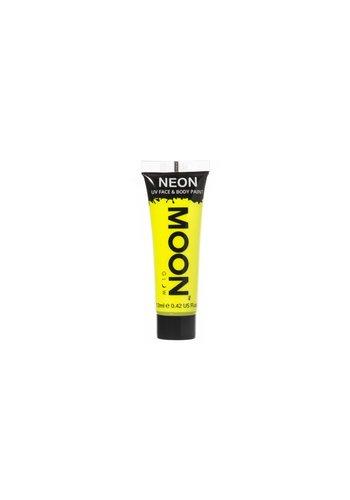 Neon UV Face & Body Gel - Geel - 12ml