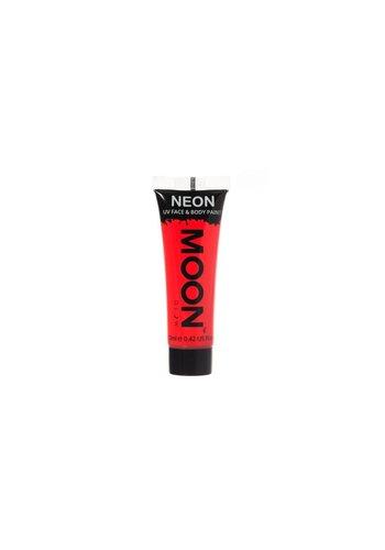Neon UV Face & Body Gel - Rood - 12ml