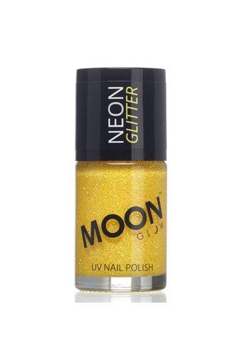 Neon UV Glitter Nagellak - Goud/Geel - 14ml
