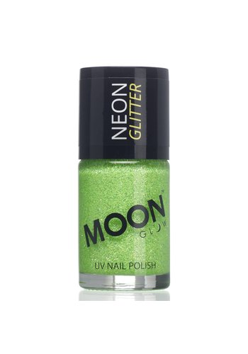 Neon UV Glitter Nagellak - Groen - 14ml