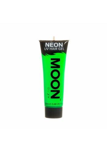 Neon UV Haar Gel - Groen - 20ml