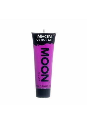 Neon UV Haar Gel - Paars - 20ml
