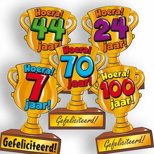Wenskaart Trofee