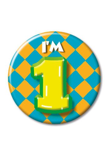 Button - I'm 1
