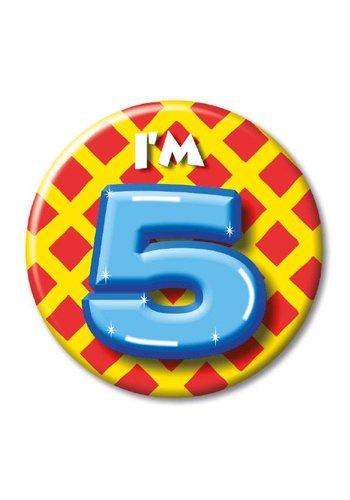 Button - I'm 5