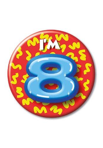 Button - I'm 8