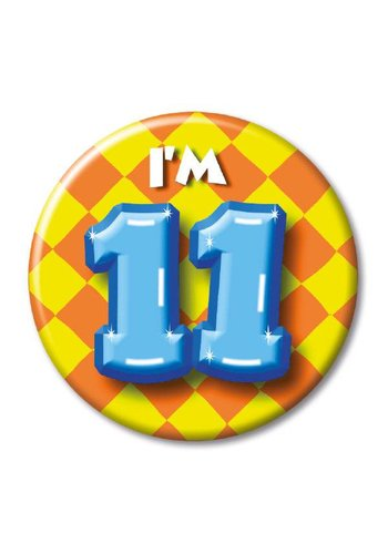 Button - I'm 11