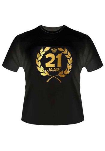 T-shirt - 21 jaar