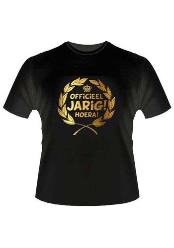 T-shirt - Officieel Jarig Hoera!!