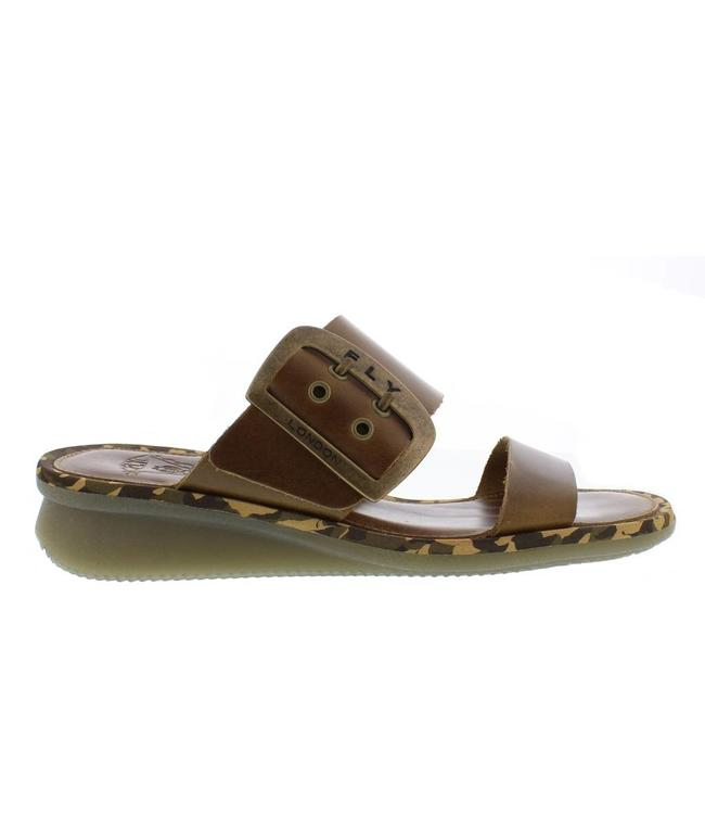 Fly London Bridle Camel Slipper