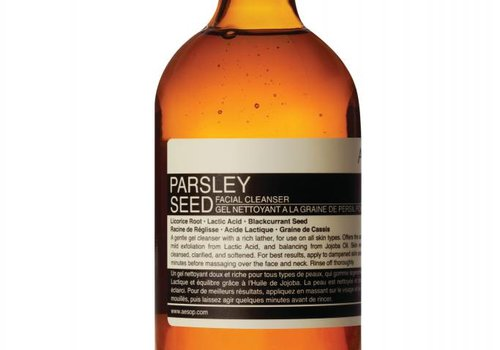 Aesop Parsley Seed Facial Cleanser 200 ml
