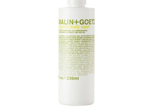 Malin+Goetz bergamot body wash