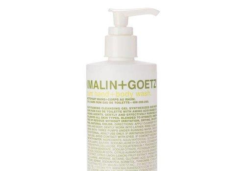Malin+Goetz rum hand+body wash