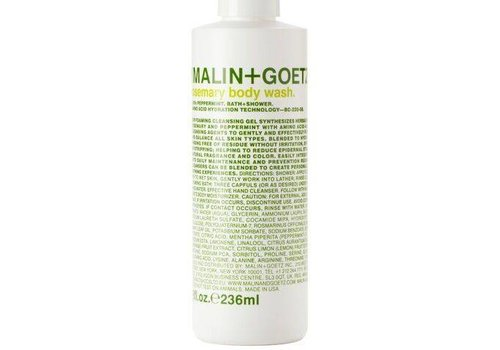 Malin+Goetz rosemary body wash 8oz-236ml