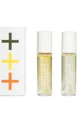 Malin+Goetz perfume oil set (dark rum, cannabis, petitgrain) *NEW* 0.3oz-9ml