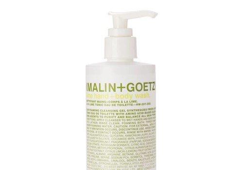 Malin+Goetz lime hand+body wash PUMP 8.5oz-250ml