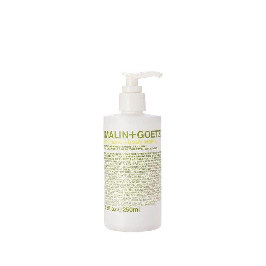 lime hand+body wash PUMP 8.5oz-250ml