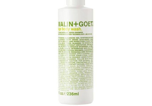 Malin+Goetz sage body wash 8oz-236ml
