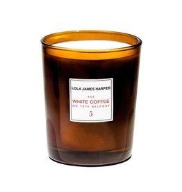 Lola James Harper Candle 5 WHITE COFFEE 190 G