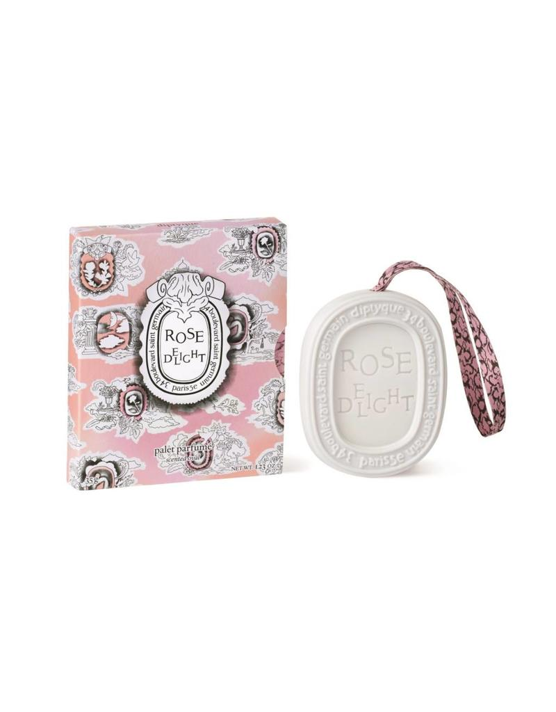 Diptyque Diptyque | Rose Delight Scented Oval