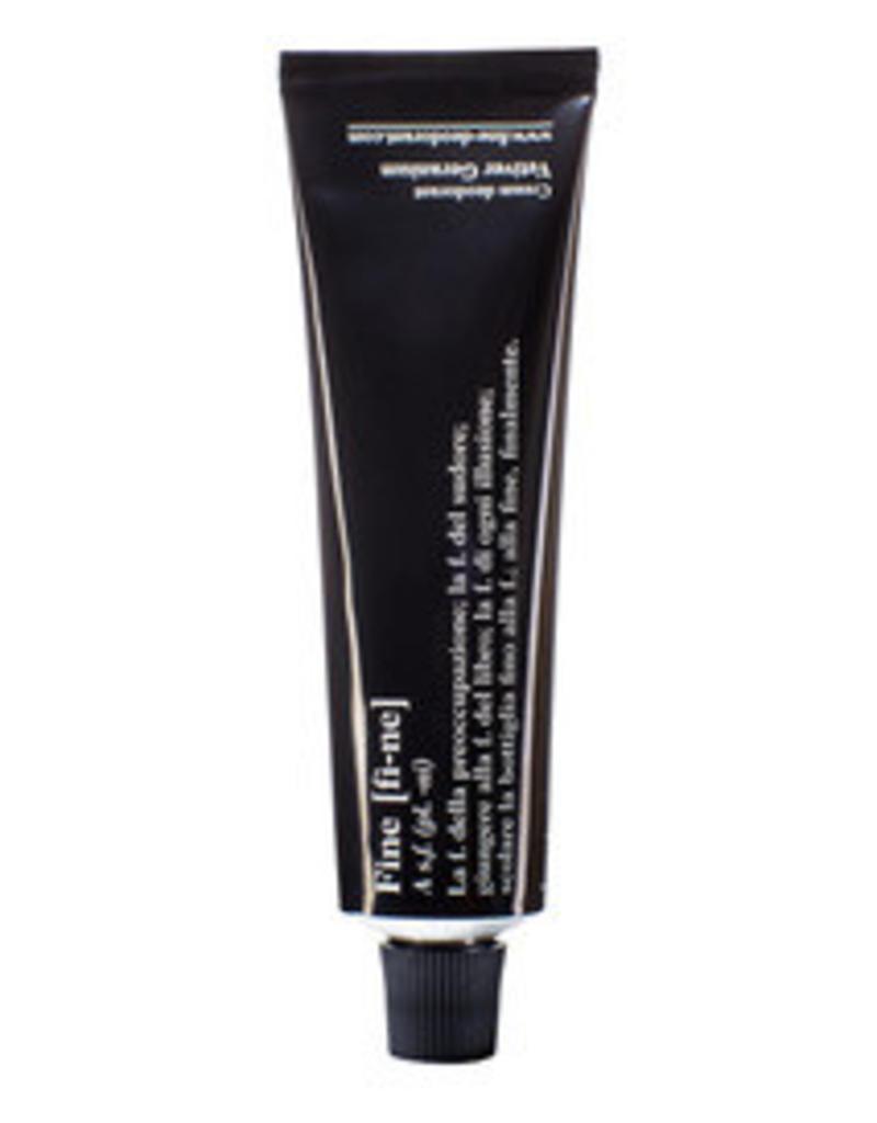 Fine Deodorant Vetiver/Geranium 40 g tube