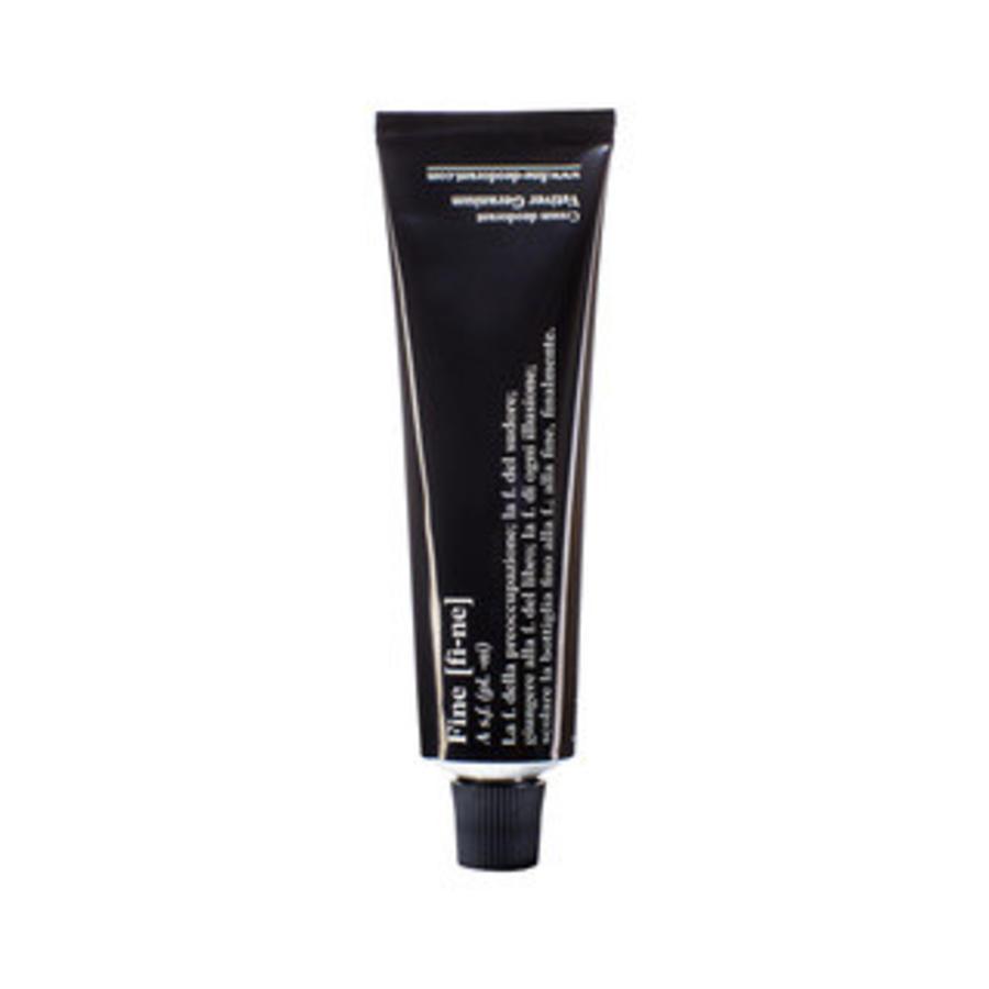 Deodorant Vetiver/Geranium 40 g tube