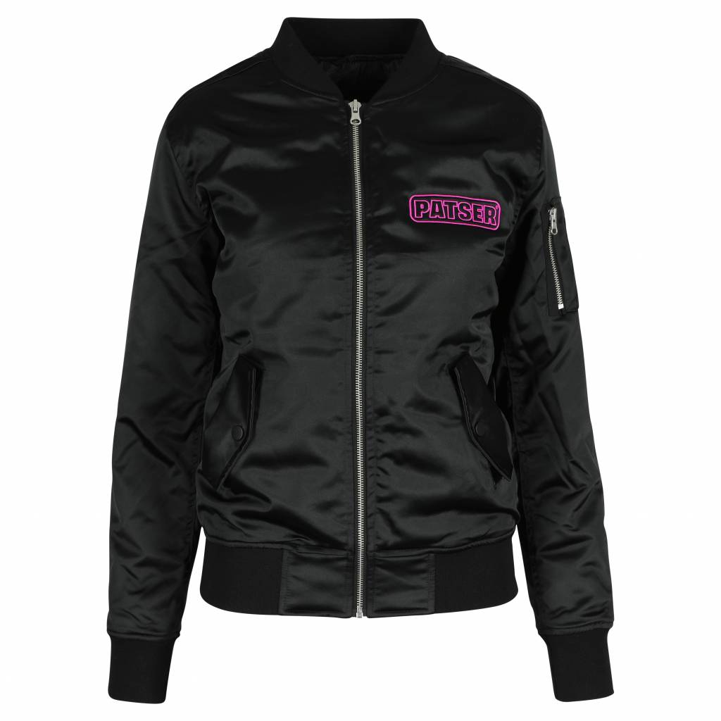 PATSER BOMBER JACKET BLACK