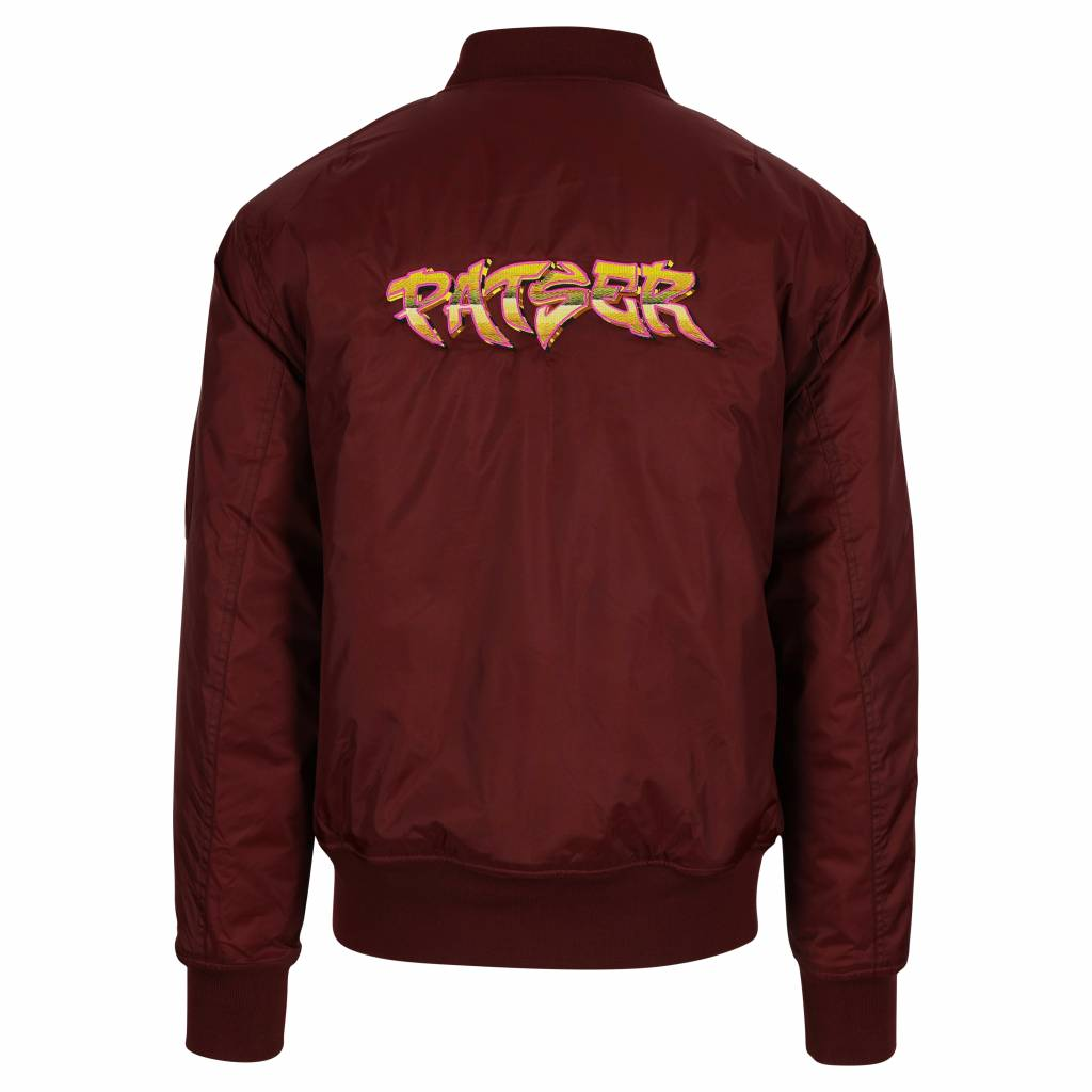 PATSER BOMBER JACKET BORDEAUX