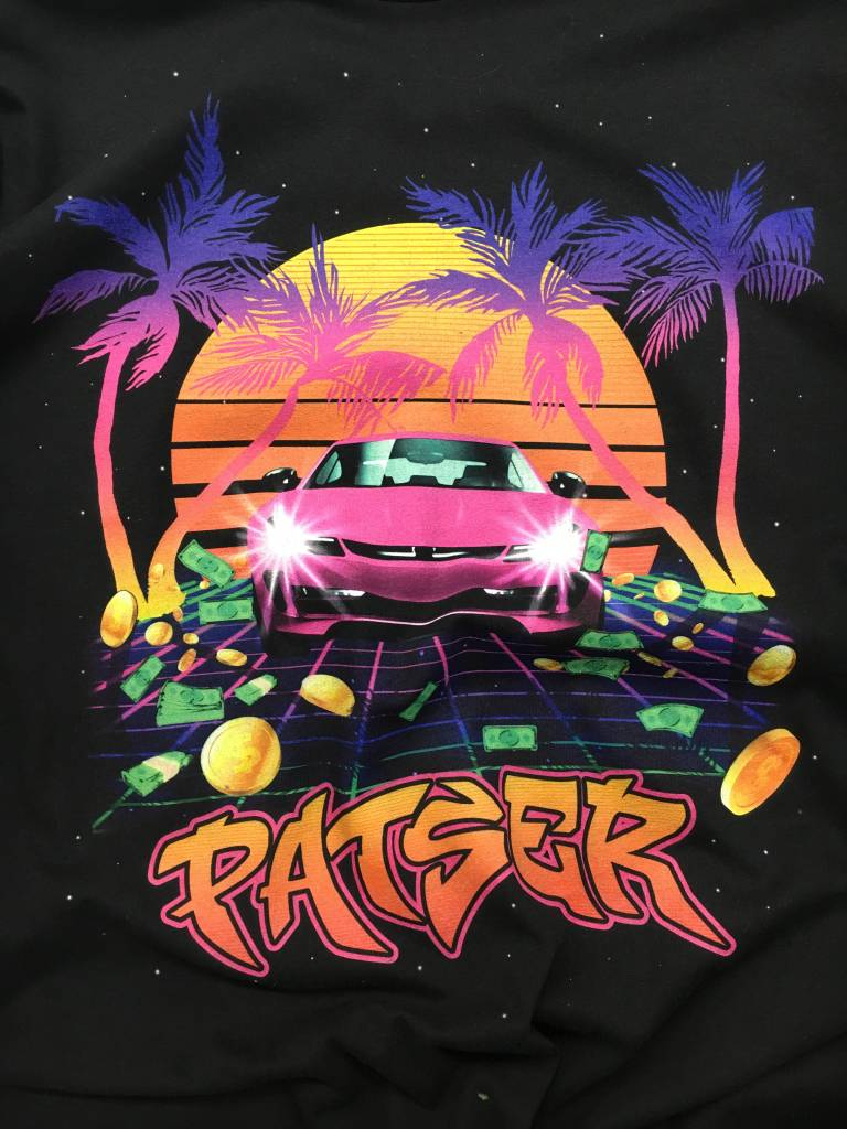 PATSER SWEATER ZWART
