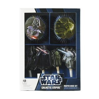 Cupcake Kit Star Wars Galaktic Empire 48 st