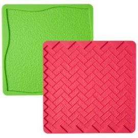 Wilton Wilton Texture Mat -Grass/Brick- Set/2textuur- gras/steen