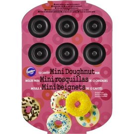 Wilton Wilton 12-cavity Mini Doughnut Pan Donut