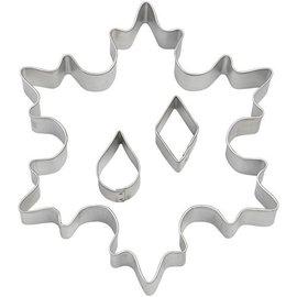 Wilton Wilton Mini & Oversized Cookie Cutters Snowflake set/3