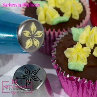 Sugar and Crumbs Sugar and Crumbs Nifty Nozzle -Starburst Flower-