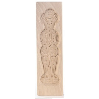 Speculaasplank Medium Pop Man / Piet 25x7cm.
