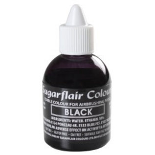 sugarflair Sugarflair Airbrush Colouring -Black- 60ml