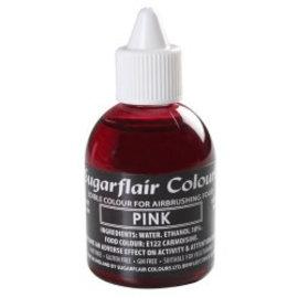 sugarflair Sugarflair Airbrush Colouring -Pink- 60ml
