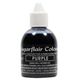 sugarflair Sugarflair Airbrush Colouring -Purple- 60ml