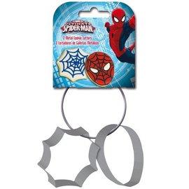 Metalen Koekjes Uitstekers Spiderman set/2