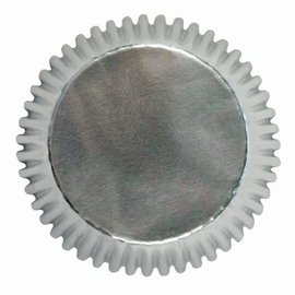 PME PME Mini Baking Cups Zilver 45 stuks