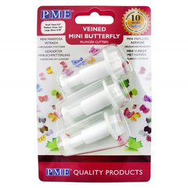 PME PME Butterfly Plunger Cutter Mini set/3