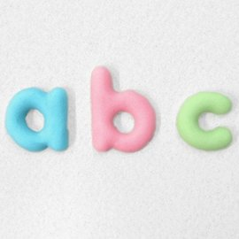 Katy Sue Katy Sue Mould Domed Alphabet - Kleine Letters