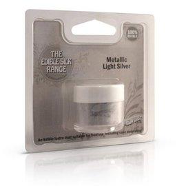 RainbowDust RD Edible Silk - Metallic Light Silver