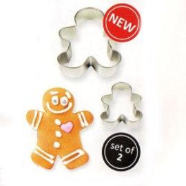 PME PME Uitstekers Gingerbread man set/2