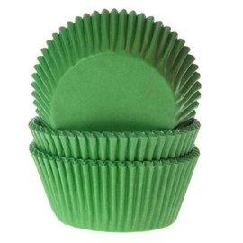 House of Marie HOM Baking cups Gras groen - pk/24
