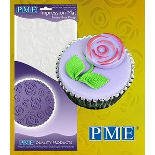 PME PME Impression Mat Fantasy Rose