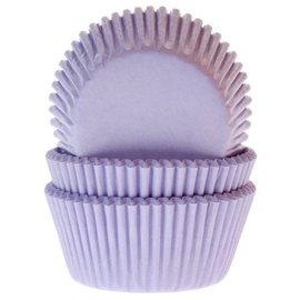 House of Marie HOM Baking cups Lila - pk/24